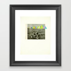 Holiday in the Mountains Framed Art Print
