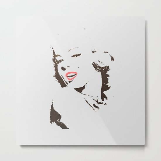 It's Marilyn Metal Print