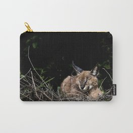 Napping Cat Carry-All Pouch