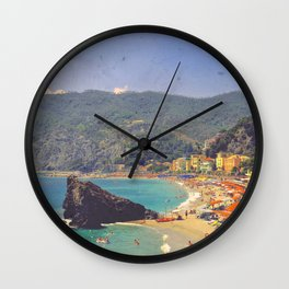 Sending You A Postcard From Italy Wall Clock