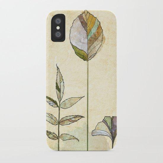 Leaf Study iPhone Case