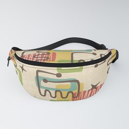 Mid Century Modern Abstract Pattern 731 Fanny Pack