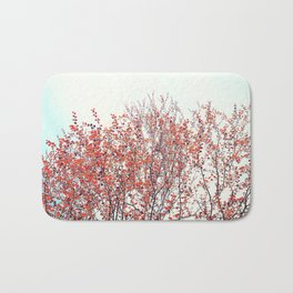 Red Tree Bath Mat