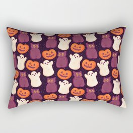 Halloween Marshmallows Rectangular Pillow