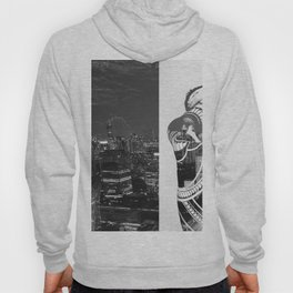 Tattoo and architecture of the city Hoody