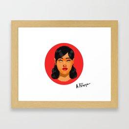 Lydia Framed Art Print