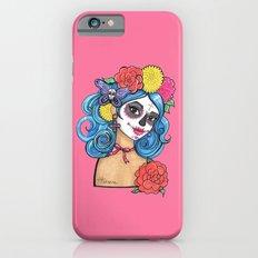Dia de los Muertos: Sugar Skull Girl Slim Case iPhone 6s