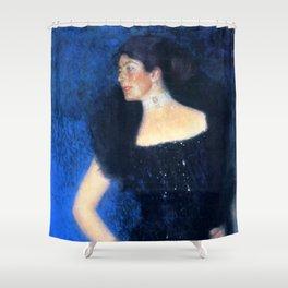 "Gustav Klimt ""Portrait of Rose von Rosthorn-Friedmann"" Shower Curtain"