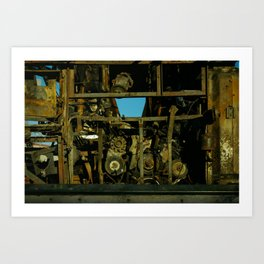 Engine that could Art Print