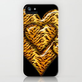 Cheetah Heart HD by JC LOGAN 4 Simply Blessed iPhone Case