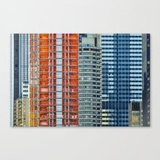 Density - New York City Architecture Canvas Print