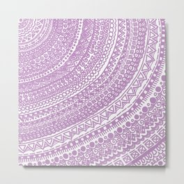 Pink Pulse o2. Metal Print
