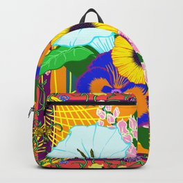 Floral Spread Backpack