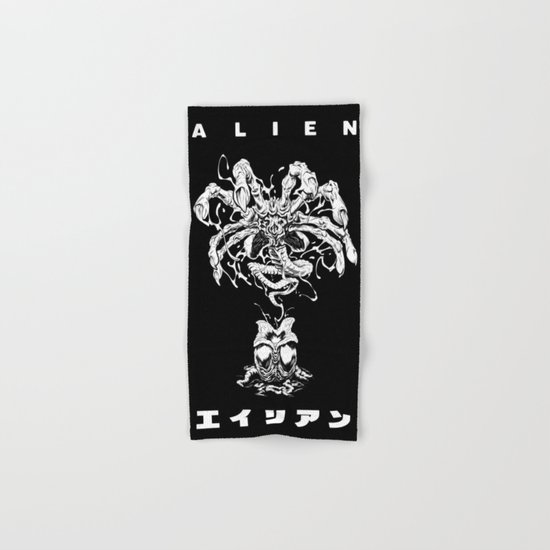 ALIEN: FACEHUGGER Hand & Bath Towel