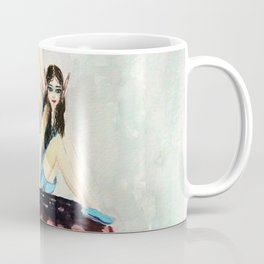My childhood fantasy. colored Coffee Mug