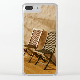 A Pair of Chairs Clear iPhone Case