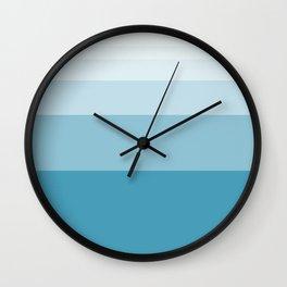 Fibonacci Abstract Wall Clock