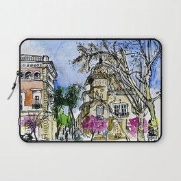 Plaça de la Virreina, Barcelona Laptop Sleeve