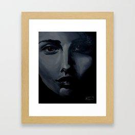The Portrait  Framed Art Print