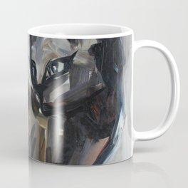 Cat, elegant animal, traditional art Coffee Mug