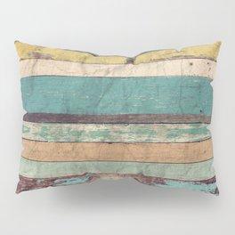Wooden Vintage Pillow Sham