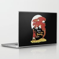 how to train your dragon Laptop & iPad Skins featuring How to Train your Smaug! by Loku