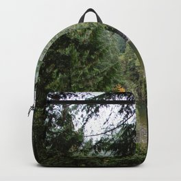 waterfall in the distance Backpack