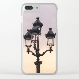 Paris Street Style No. 1 Clear iPhone Case
