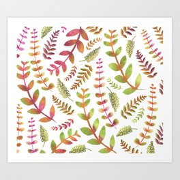 Fall Changing Leaves Art Print