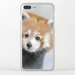 """"""" Curious """" Clear iPhone Case"""