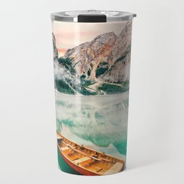 Boats on the lake Travel Mug