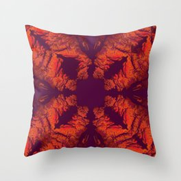 Mandala X Throw Pillow