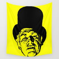 literature Wall Tapestries featuring Outlaws of Literature (Ken Kesey) by Silvio Ledbetter