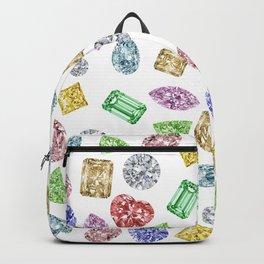 Gems pattern Backpack