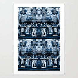 CLASSIC BLUE SICILIAN SOUND Art Print