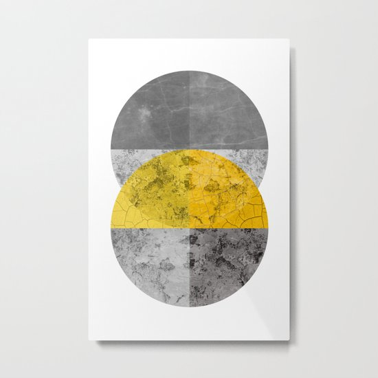 Geometric Composition 6 Metal Print