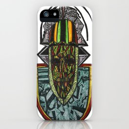 African Rasta iPhone Case