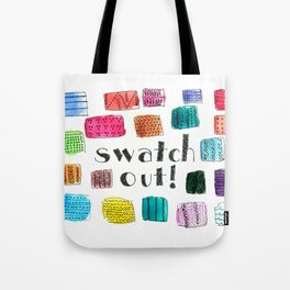 Swatch Out! Tote Bag