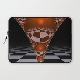 Apollonian gasket - orange Laptop Sleeve