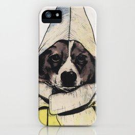 Banana Dog iPhone Case