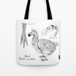 The last Dodo - scientific illustration Tote Bag