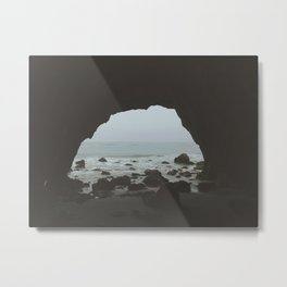 That Malibu Cave  Metal Print