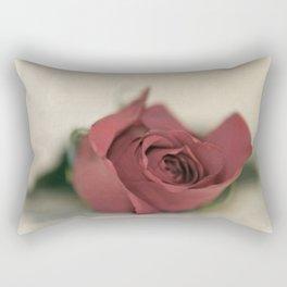Single Rose fine art photography Rectangular Pillow