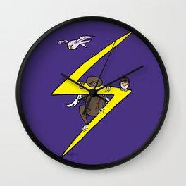 Ms. Marvel's Sloth Wall Clock