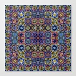 Mandala Sampler Canvas Print