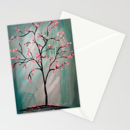 Cherry Blossom Tree Stationery Cards