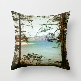 Søndre Sandøy One Throw Pillow