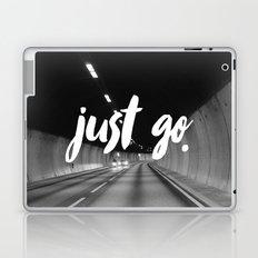 Just Go Laptop & iPad Skin