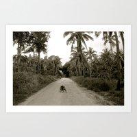 Tonga Dog Art Print