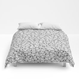 Surveillance Frenzy Comforters
